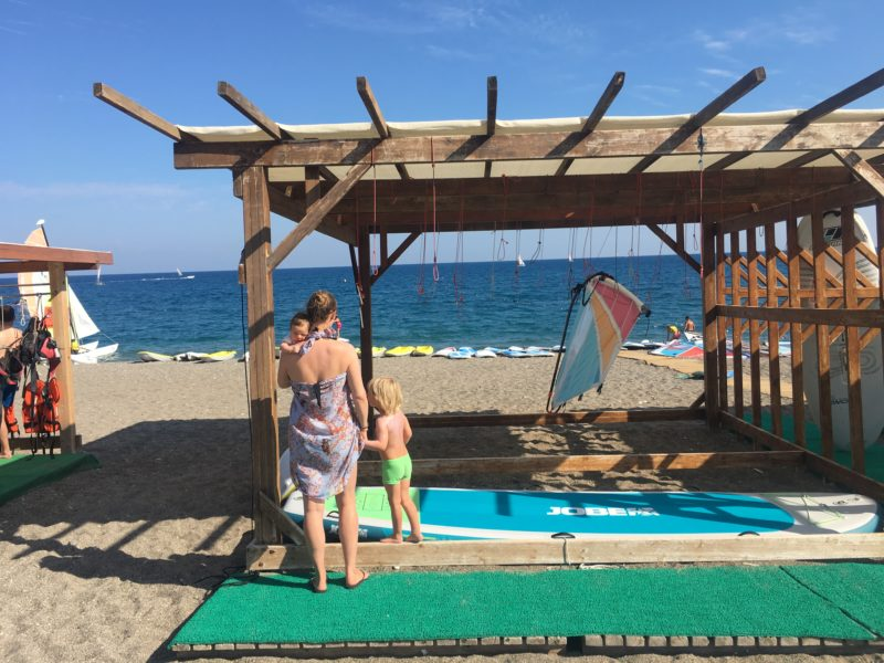 Z dziećmi na plaży