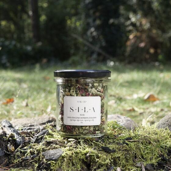Ekologiczna herbata ziołowa SIŁA